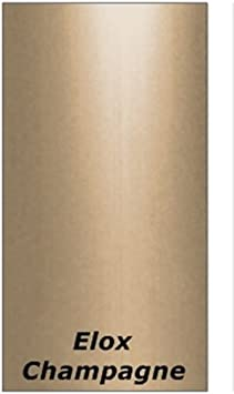 Perfil de transici/ón de compensaci/ón de altura de hasta 14 mm Perfil de compensaci/ón de alfombra del carril autoadhesivo Perfil de remate Long alargamiento de perfil alu-anodizado-Champagne: ancho 42 mm ajuste de perfil