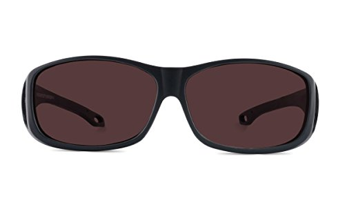TheraSpecs Over Migraine Glasses for Light Sensitivity, Photophobia and Fluorescent Lights | Fits Over Prescription Eyewear | Unisex | Polarized Outdoor - Sunglasses Help Migraines Do