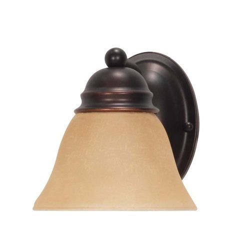 (Nuvo Lighting 60/3125 Mahogany Bronze Single Light Reversible Lighting 6.25