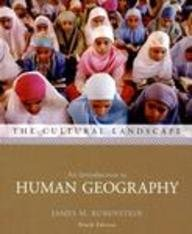 Cultural Landscape:Intro.To Human Geog.