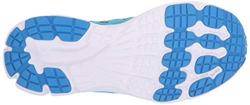 Under Armour Girls' Grade School Rave 2 Sneaker, Alpine (301)/Blue Circuit, 4 by Under Armour (Image #3)