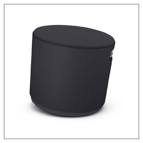 Turnstone Buoy Stool: Black Base - Tornado Buzz2 Upholstery for sale  Delivered anywhere in USA