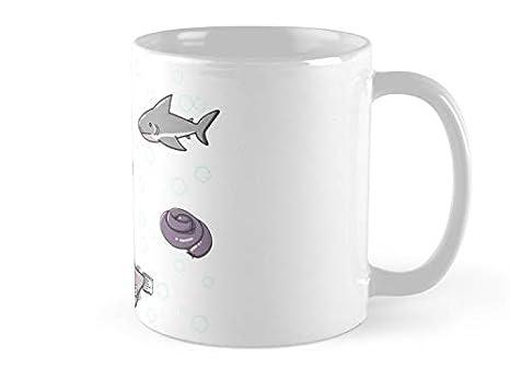 Amazon.com: Taza SeaZTh con diseño de criaturas submarinas ...