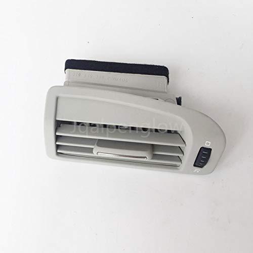 Fastener & Clip Beige Gris para Skoda Superb B-Pillar A/C Calentador Aire Acondicionado Duct ventilación Cover Grill Outlet...