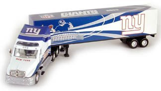 2003 New York Giants Diecast Tractor Trailer Semi NFL (Trailer Tractor Diecast Nfl)