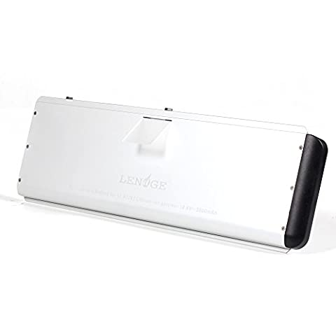 LENOGE Replacement A1281 Battery for Apple Macbook Pro 15 inch A1281 A1286 battery (Late 2008 Late 2009 Aluminum Unibody Version) 18 Months Warranty (2009 Macbook Battery Unibody)