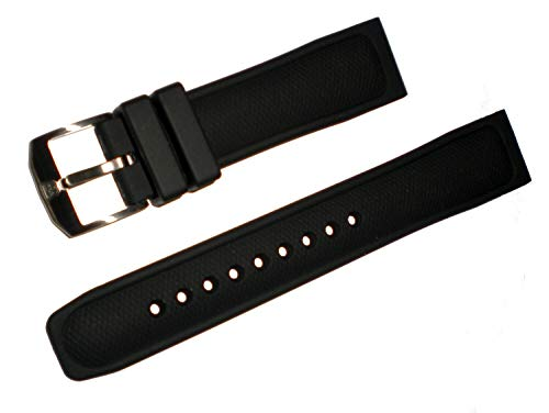 Luminox 22mm Black Polyurethane Watch Band