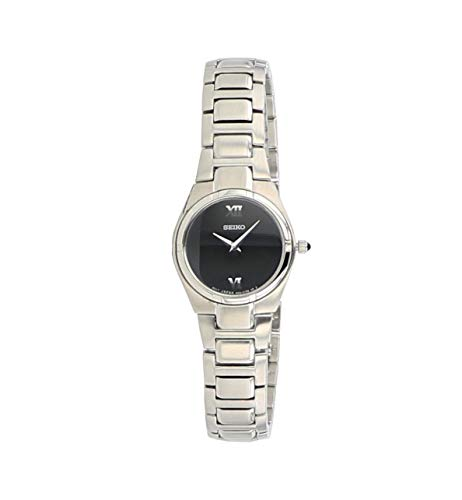 Seiko Dress Steel Black Ladies Watch SUJD53