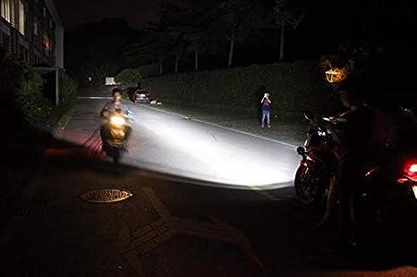 Kit Cablaggio e Interruttore On//Off Per Motocicletta//Motocicli Staffe brackets in METALLO 360/° brackets 2019 Faretti LED Moto Supplementari faro di profondit/à