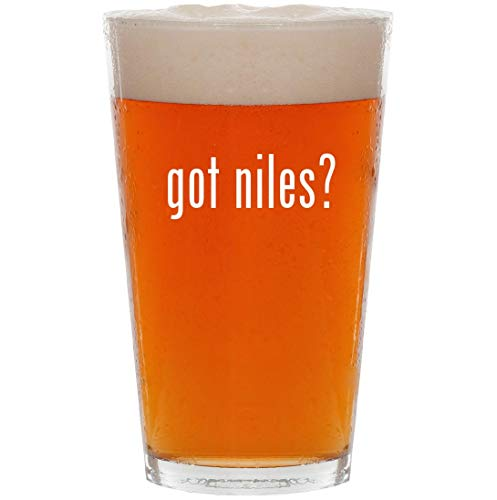 got niles? - 16oz All Purpose Pint Beer Glass