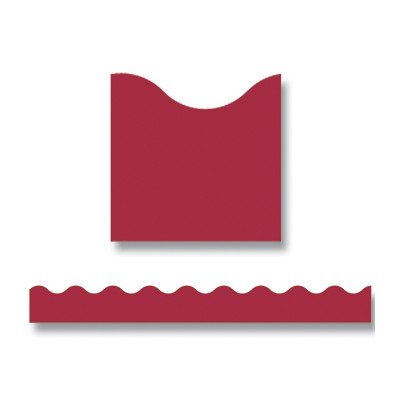 (Trimmer Maroon Classroom Border [Set of 3])