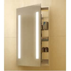lighted medicine cabinet electric mirror ascension asc2330 lighted 22684
