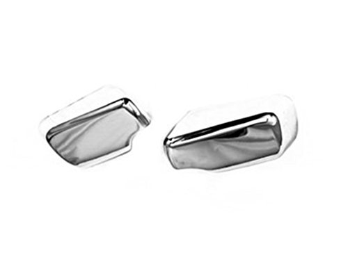TX Racing Chrome Side Mirror Cover for BMW E46 3 Series ()