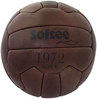 Softee Equipment 0000148 Balón Vintage, Blanco, S: Amazon.es ...