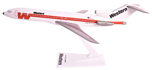 (Western 727-200 Airplane Miniature Model Plastic Snap-Fit 1:200 Part#)