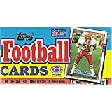 1989 Topps Football Card Complete Set - Montana, Marino, Elway, Several Rookie Cards