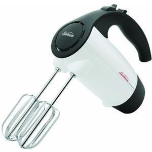 Sunbeam 2526 6-Speed 220-Watt Hand Mixer, White (Sunbeam Electric Mixer Beaters)