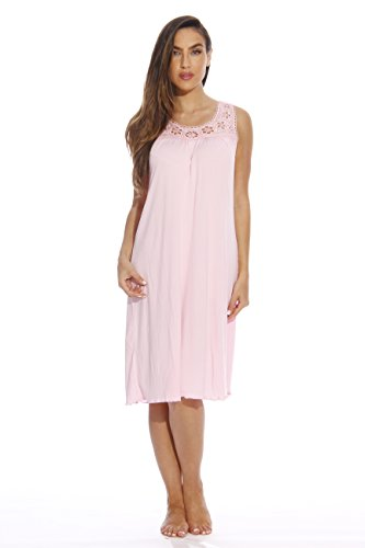 1541A-Pink-M Just Love Nightgown / Women Sleepwear / Sleep Dress