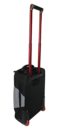 The North Face Accona 19 Carry-Ons Luggage Travel Rolling Bag RTO (Zinc grey/tnf black)