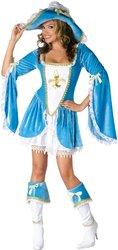 [Women's Costume: Madam Musketeer-Small/Medium PROD-ID : 1464284] (Women Musketeer Costumes)