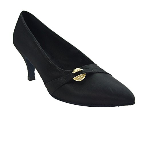 Dance Pumps schwarz Schuhe Damen Foo Jig vqxwE0tq