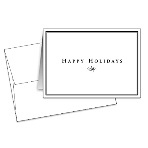 Happy holiday cards amazon happy holiday greeting cards envelopes 25 per pack size 45 x 6 when folded m4hsunfo