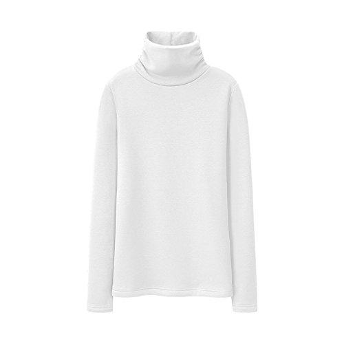 Size H warm winter shirt collar M blouse B Color women's High cotton thicking T x1PwvIISq