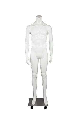 Newtech Display MAM-GHOSFULL/WHT Full Body Ghost/Invisible Mannequin by Newtech Display