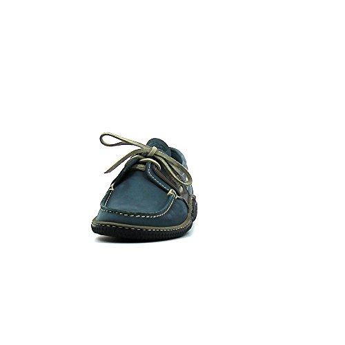 TBS - Zapatos de cordones de cuero nobuck para hombre