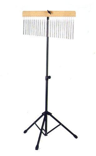 WB01 Pro Chrome Percussion 25 Bar Chimes with Mounting Stand