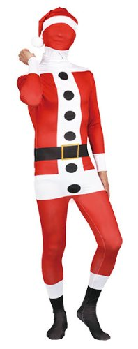 Slender Man Costume Kid (Slender Santa Claus Costume -- Men's Costume)