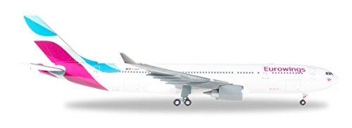Daron Herpa Eurowings A330-200 1/200 Reg#d-Wing