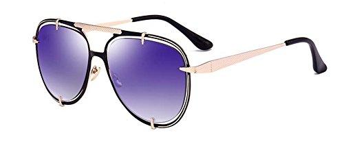 en inspirées polarisées rond Lennon retro métallique D du vintage de soleil cercle lunettes style nRaz1a