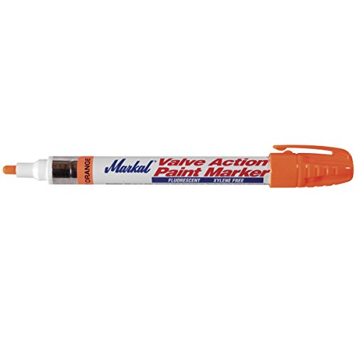 Paint Marker Bullet - Markal 97052 Valve Action Paint Marker with 1/8