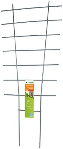Windhager Blumenstütze, Rankhilfe, Gitterspalier, Rankgitter für Topfpflanzen, Metall, 77 x 34 cm, 05709