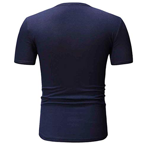 Men's Size Tall Short-Sleeve Beefy T-Shirt (Pack of Two) Dark Blue by Donci T Shirt (Image #1)