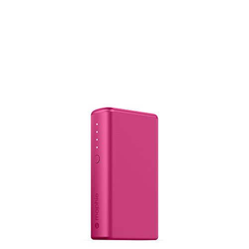 mophie powerstation Boost External Battery for Universal Smartphones and Tablets (5,200mAh) - Pink