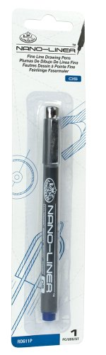 Royal & Langnickel Nano-Liner Drawing Pen, Size 05, Blue