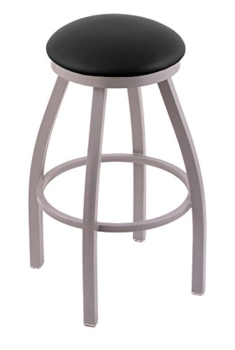 Holland Bar Stool Co. 80225ANBlkVinyl 802 Misha Counter Stool, 25
