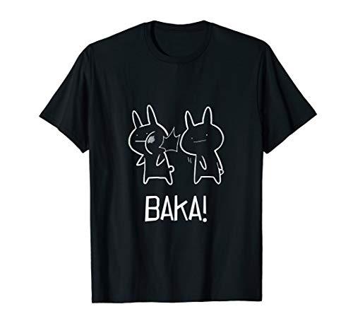 Baka T-Shirt For True Otakus Anime Fans ()