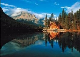 (Tomax Banff National Park, World Heritage Site, Alberta, Canada 500 Piece Glow-in-the-dark Jigsaw Puzzle)