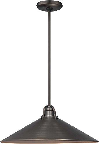Minka Lavery Pendant Ceiling Lighting with Metal Shade 2251-647, Pendant Bowl, 3 Light, Copper Bronze