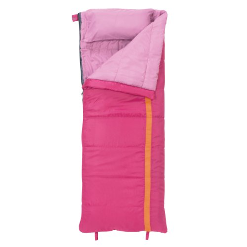 Slumberjack Girls Kit 40 Degree Short Right Hand Zip Sleeping Bag, Outdoor Stuffs