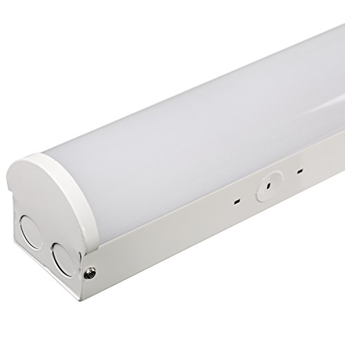 Commercial Led Shop Lights: Hykolity 8' Linear LED Light Fixture Commercial Grade High