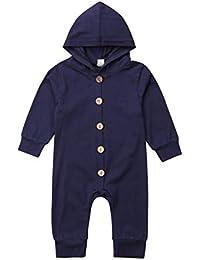 5f02f729c683 Amazon.com  Blacks - Footies   Rompers   Clothing  Clothing