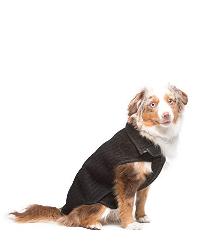 Dog Gone Smart Nano Knit Sweater, Black, 12