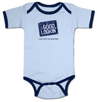 Bald, Toothless & Good Lookin'...just like my grandpa Body Suit, Short Sleeve