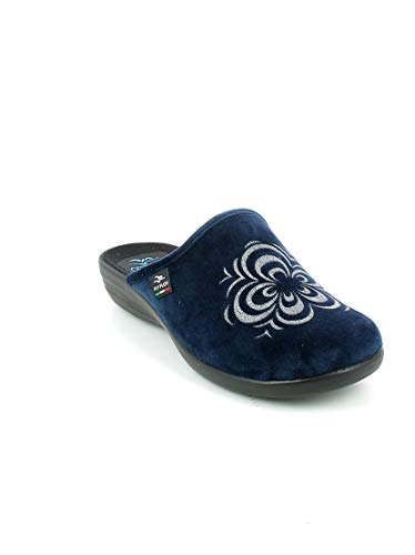 Donna Cm Pd Anatomica Flot 3 P3n63 Antishock Zeppa Made Blu Fly In Italy Ciabatte Antiscivolo BUqpw
