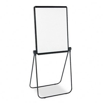QUARTET Ultima Presentation Dry Erase Easel, Melamine, 27 x 34, White, Black Frame (Case of 2)