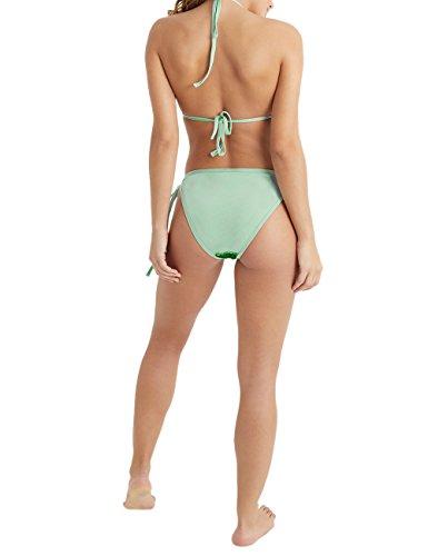 Lipsy Damen Bikinioberteil mit Pailletten Bademode Grün CTcNY76vS